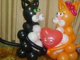 Букеты, фигуры из воздушных шаров