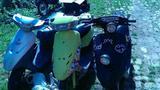 Три японских скутера